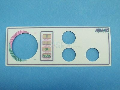 Label, 3 Button Aqua-Set Spa Side - 930083-401