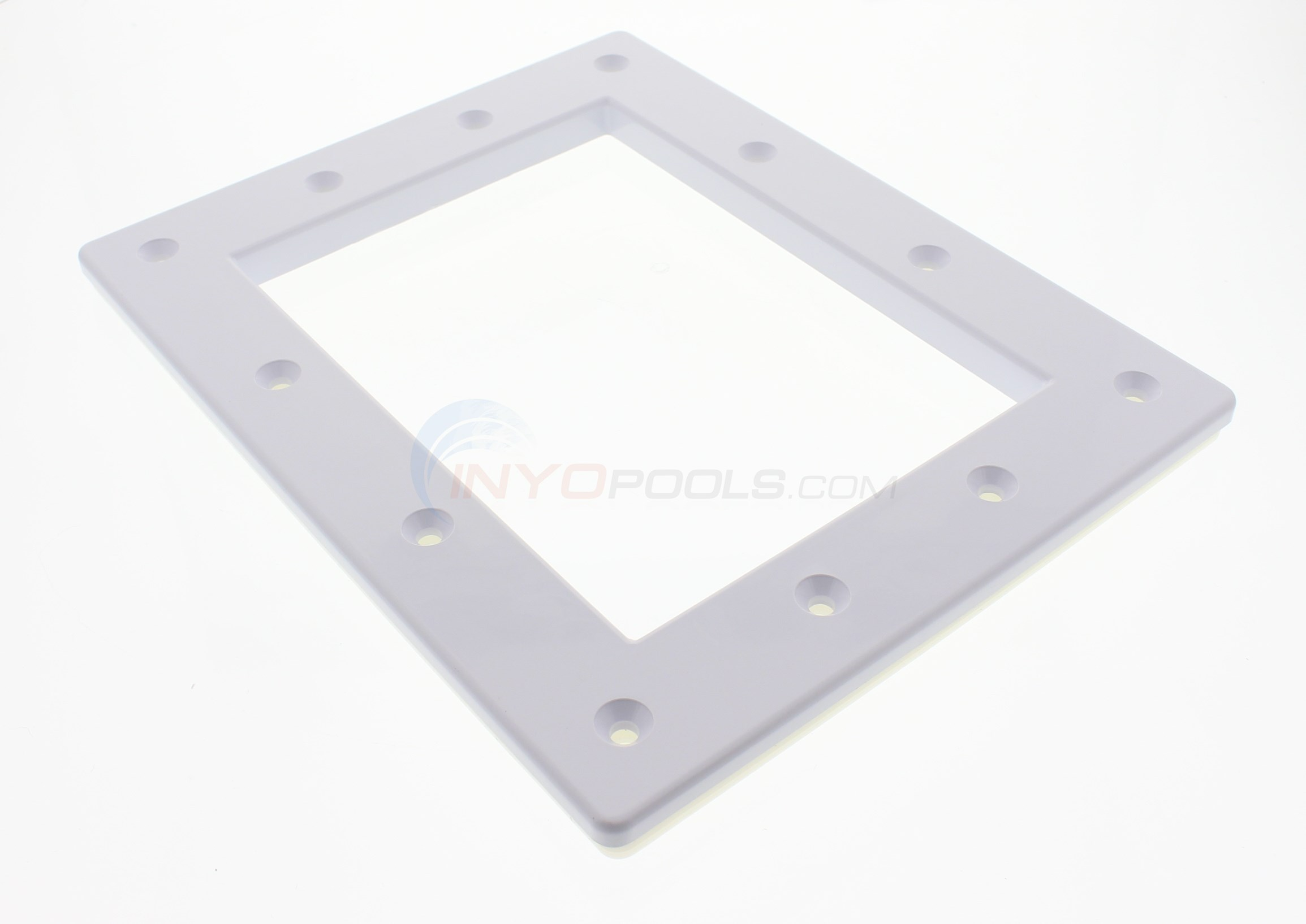 Custom Molded Products Skimmer Faceplate, Standard, White (25540.100) - 25540.0100
