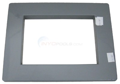 Custom Molded Products Skimmer Faceplate Cover, Standard, Gray (25540.021)