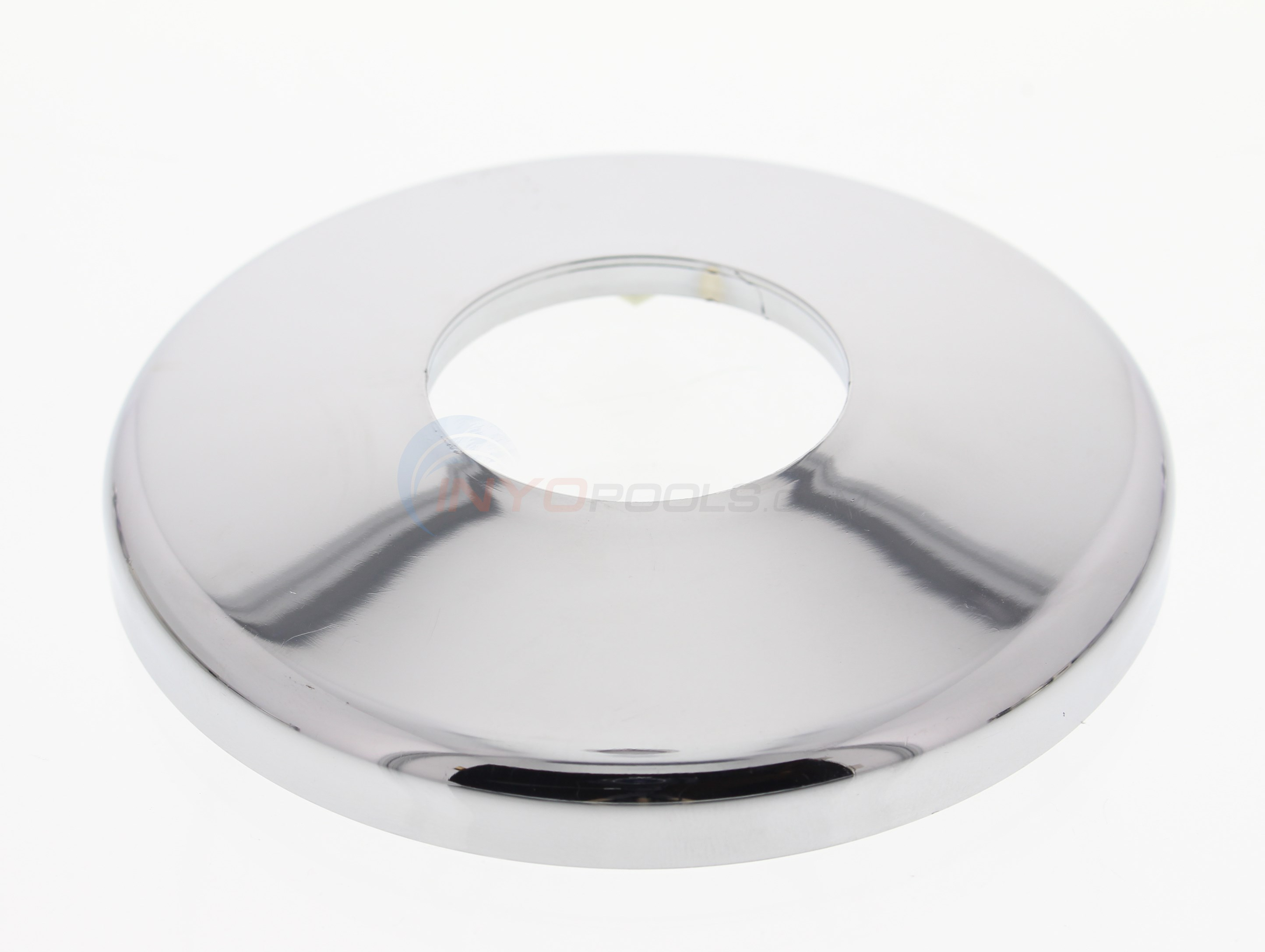 Custom Molded Products Escutcheon Chr-Plated Cycolac - Single (pe-0019-c)