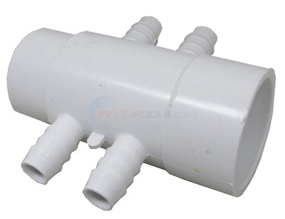 "MANIFOLD, 2""S X SPG With (4) 3/4"" BARB"