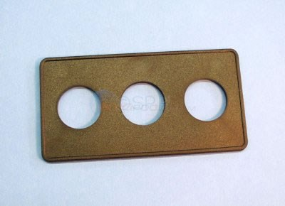 "Spa Side Panel,3 hole 6-1/2""x 3-3/8 - 951523-000"