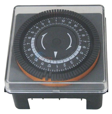 Ltd Qty Diehl Timer With Cover, 240v, 24 Hr (no Vendor Assigned)