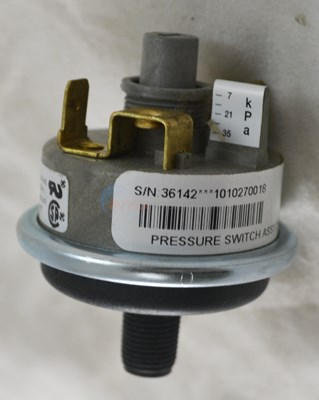 Pressure Switch, 2.0 PSI - 30512