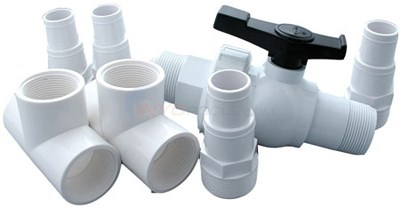 SUNHEATER DIVERTER VALVE KIT (ABOVEGROUND POOLS)