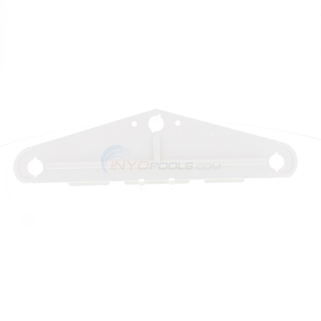 Aqua Products Side Plate, White, 3400 Series; (Single) - 3400WT
