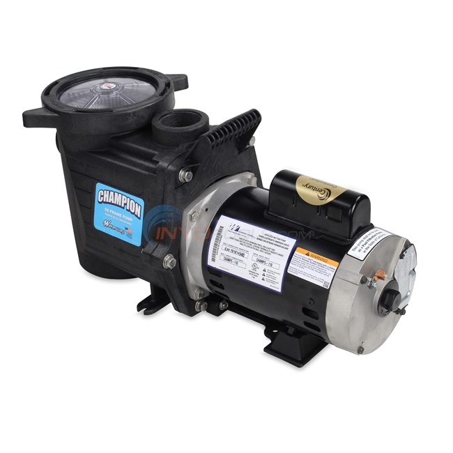 Waterway Champion 1.0 HP Max Rate Pool Pump - CHAMPS-110