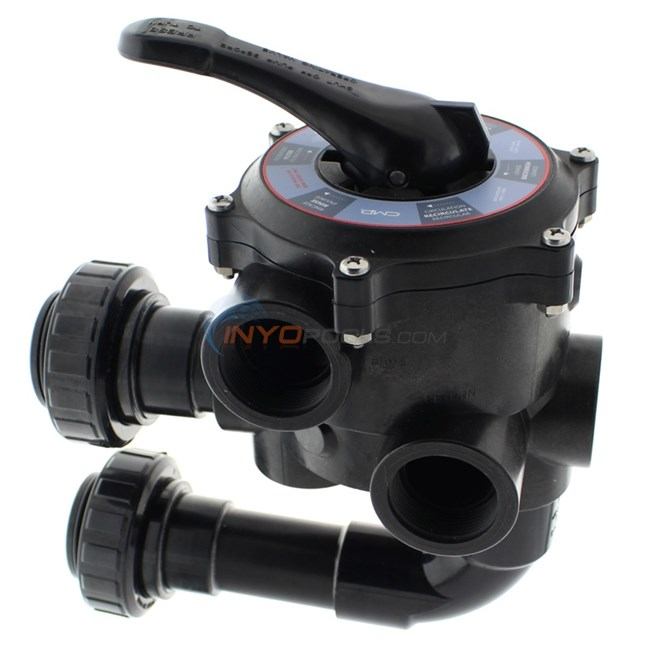 "Custom Molded Products Multiport Valve 1.5"" for Hayward S200 Sand Filter - SP0710X32"