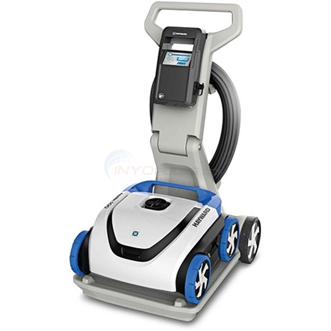 hayward aquavac 500 robotic pool cleaner with caddy rc3431cuy. Black Bedroom Furniture Sets. Home Design Ideas