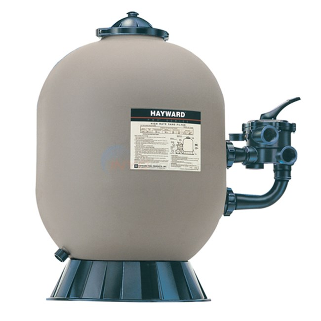 Hayward Pro Series Side Mount Sand Filter 4.91 sq. ft Less Valve - W3S310S