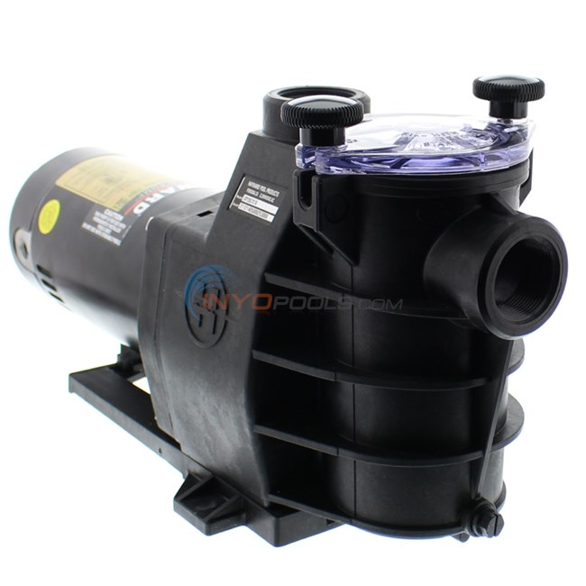 Hayward max flo pump 1 1 2 hp dual speed pump sp2810x152 for Hayward 1 1 2 hp pool pump motor