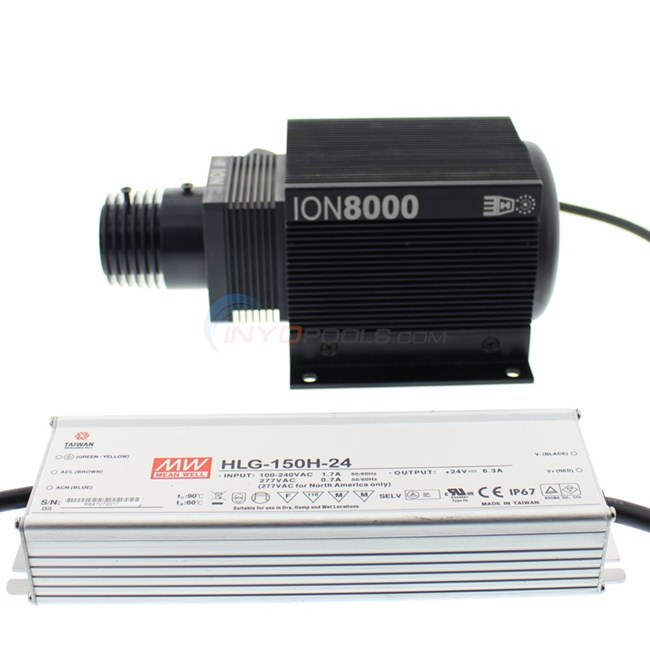Fiber Optic 9-Color Illuminator W/ LED Bulb - IL-ION-8000-SB
