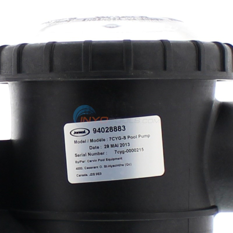 Carvin Cygnet 3/4 HP Pump - 94028883