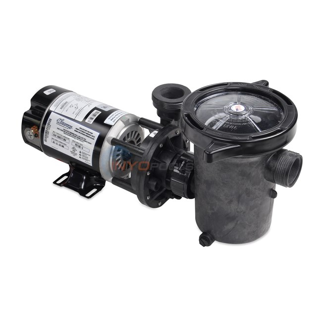Waterway Hi-Flo 1 HP Above Ground Pool Pump With Cord - PD1100-6