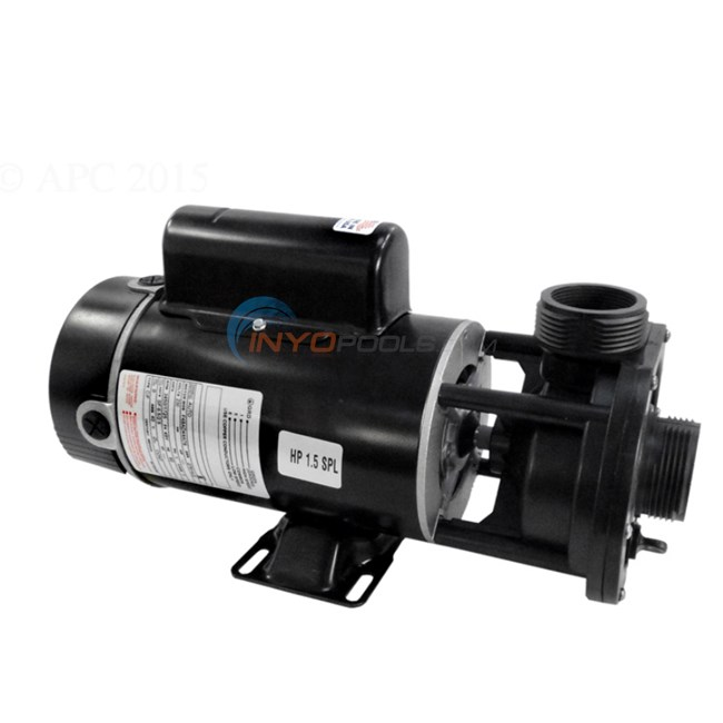Waterway Spa Pump 1 HP, 115V, 2 Spd. - 342041015