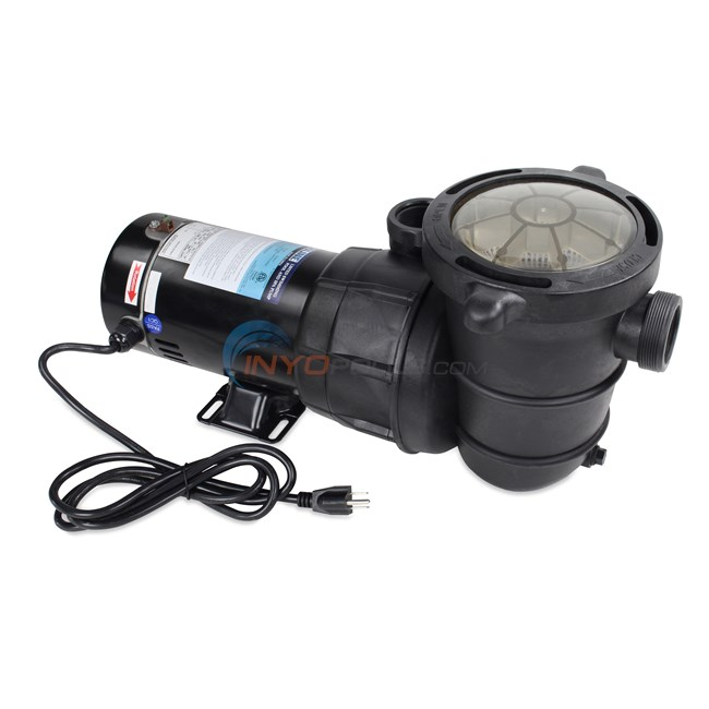1.0 HP Above Ground Pool Pump w/ Cord - PO12729