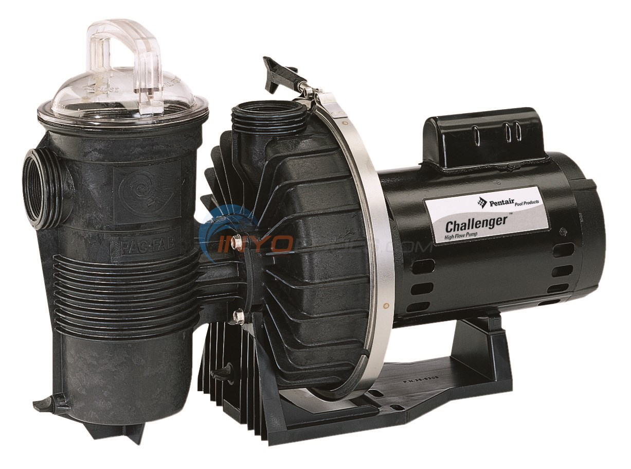 Pentair Challenger 1-1/2 HP 115/230V Single Speed FR Pump