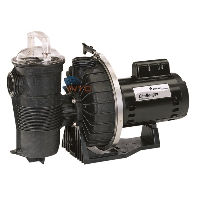 Pentair Challenger CH 3 HP 230V Single Speed FR Pump - CHII-N1-3F