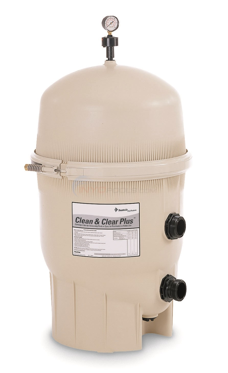 Pentair FNS Plus 60 Sq Ft Filter w/o Valve - 180009