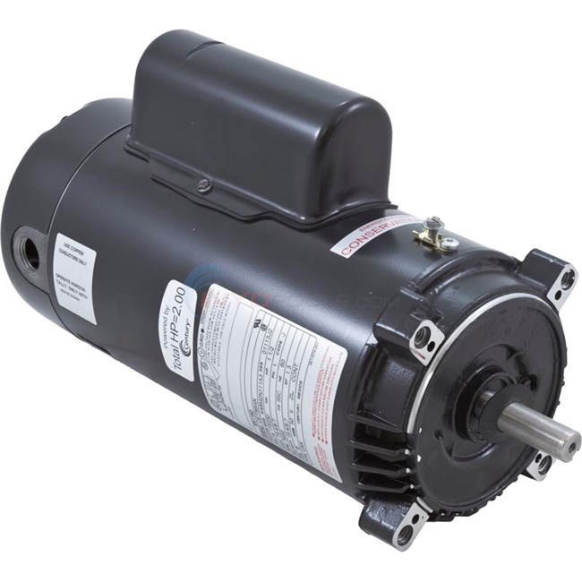 Motor ,Two Compartment C-Face Keyed 1.5HP Sgl Spd 115/230V (SK1152)