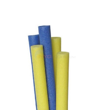 Gladon Solid Round Water Noodle Blue and Yellow (case of 20) - SR20C