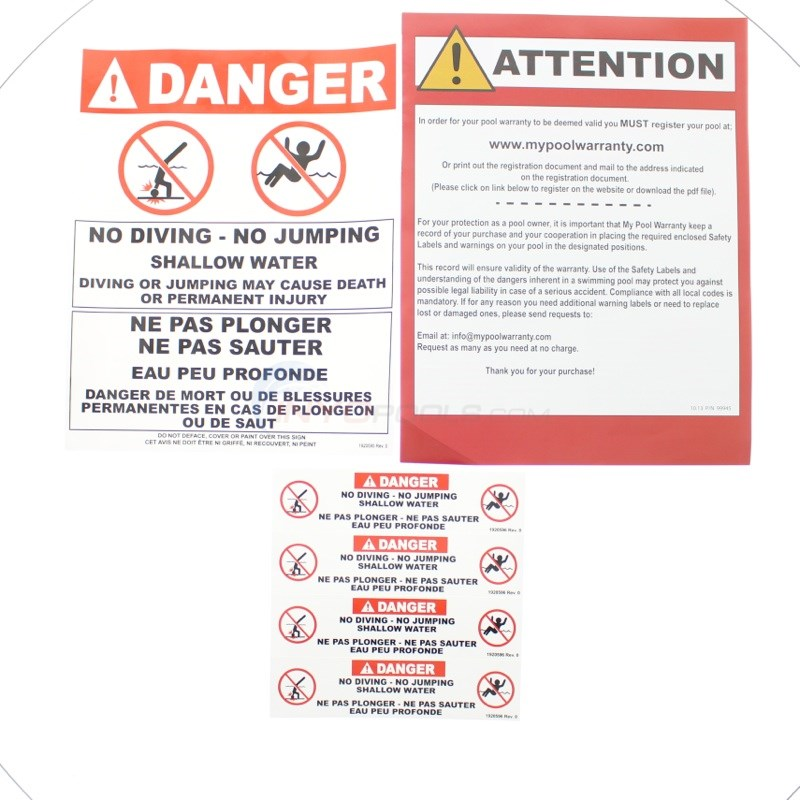 Envelope Safety Stickers
