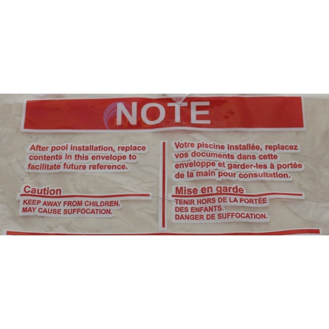Wilbar Envelope Safety Stickers - 95-0007