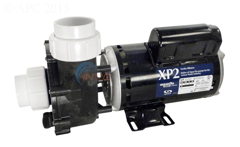 "AquaFlo Gecko Alliance XP2 Pump 3.0HP 230V, 2SPD, 48FR - 2""x2"" SIDE DISCHARGE - 06130395-2040"