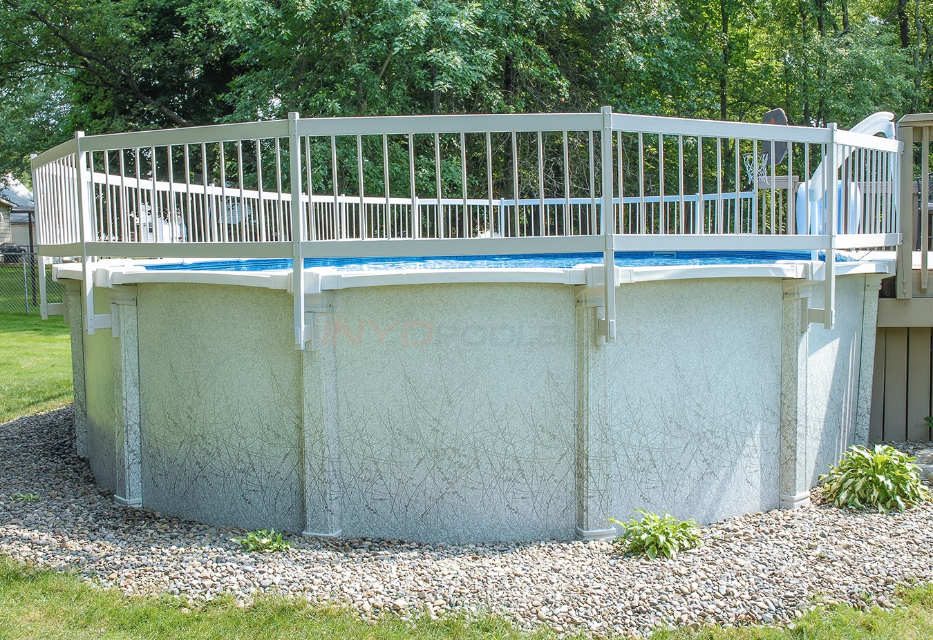 PureLine Above Ground Pool Fence Package 21 Section - PL1921