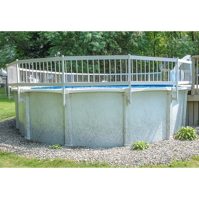 PureLine Above Ground Pool Fence Package 16 Section - PL1916