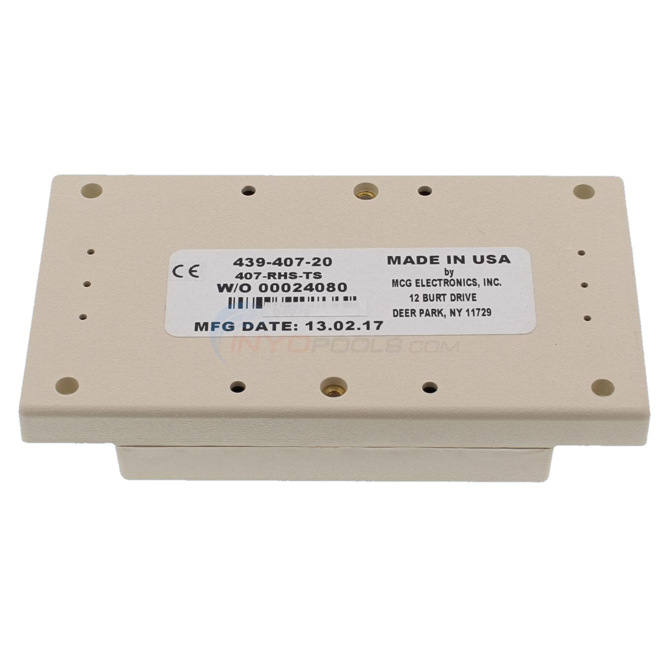 Pentair Surge Suppressor for 115v transformer wiring - AI101