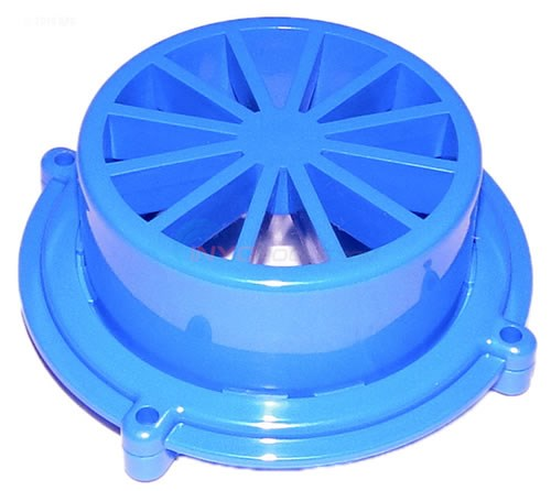OUTLET TOP (Blue, Plastic, Top and Bottom)