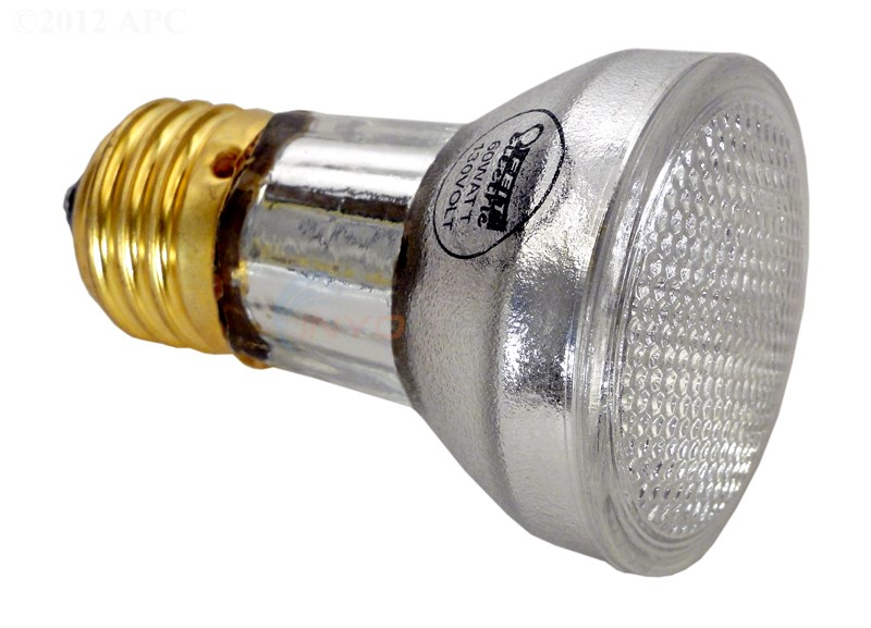 Light Bulb, R20,  60 Watt Halogen 120V (R20LF100/S)