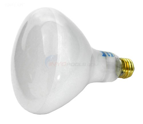 Light Bulb, Flood Light, Round, 400W, 120V (400G/FL)