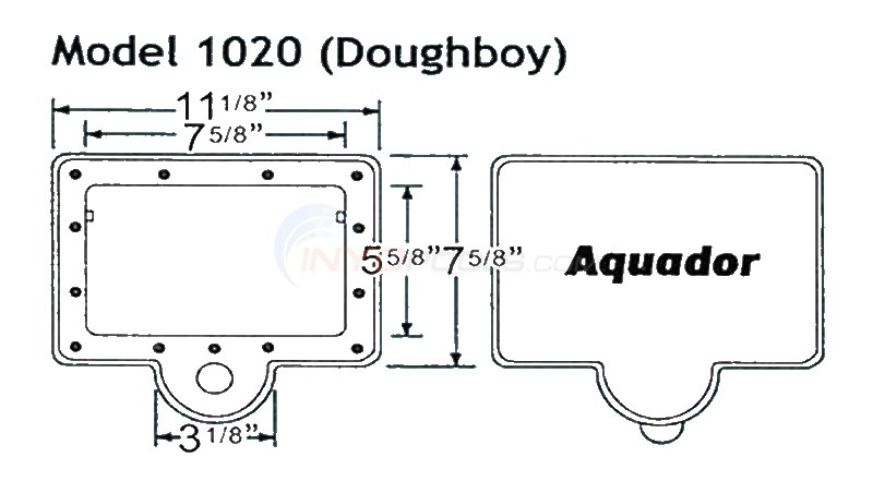 Blue Wave Aquador Doughboy - 1020