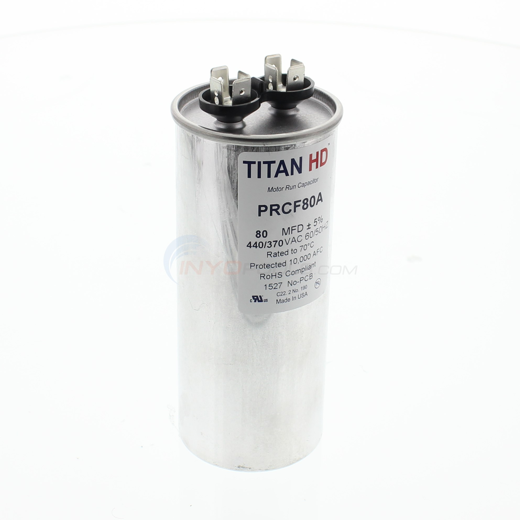 40/440 V TROPICAL 35 AND 55 CAPACITOR