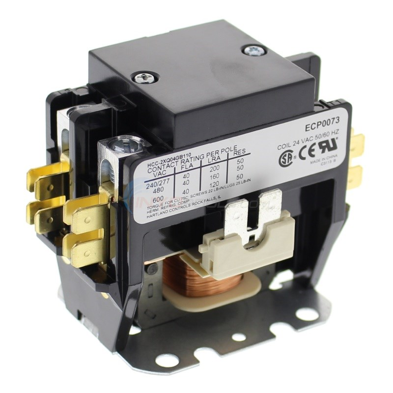 30 AMP 2 POLE 24 VOLTS CONTACTORS