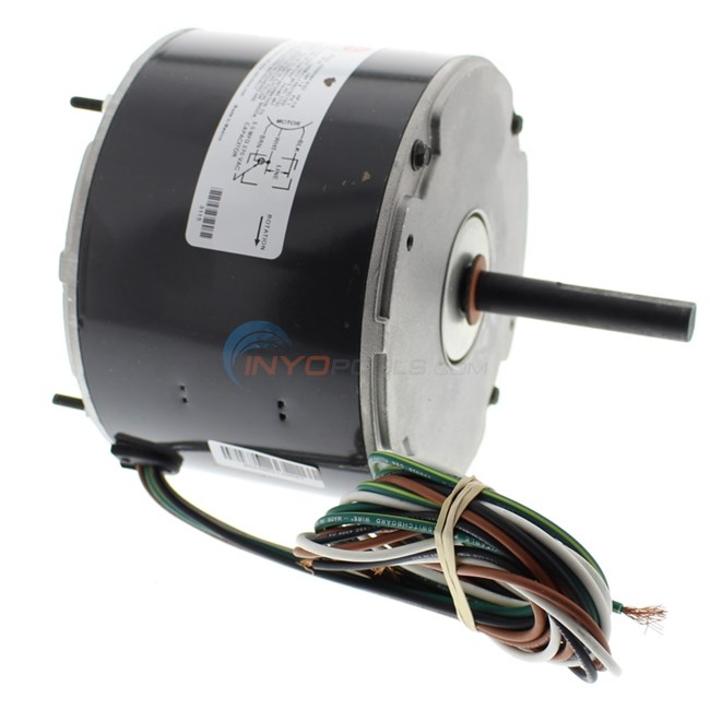 AquaCal FAN MOTOR 1/4 HP 1075 RPM 208/230 OEM MOTOR (PRE 12/2004 TROPICAL CW) - ECS3115