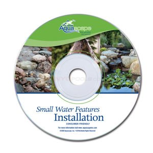 Aquascape Small Water Features Installation DVD - 98179