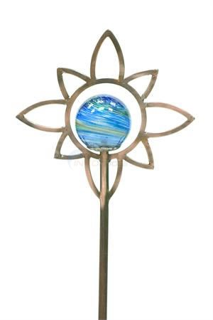 "Aquascape Glass Star Garden Stake - 35.5""H - 98344"