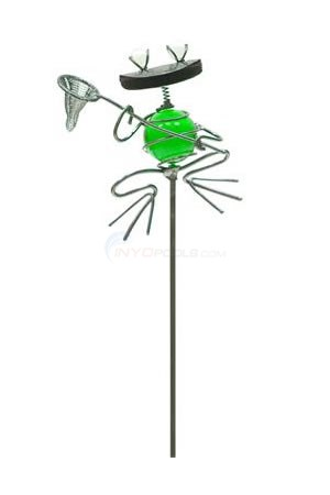 "Aquascape Glass Frog Garden Stake - 29""H - 98347"