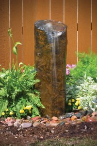 "Aquascape Natural Mongolian Basalt Column - 39""H - 98504"