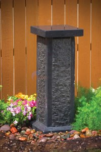 Aquascape 4-Sided Cascading Stone Pedestal Fountain - 98544