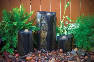 Aquascape Double Textured Basalt Cored Water Columns - 98548