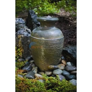 Aquascape Amphora Vase - Green Slate - 98922