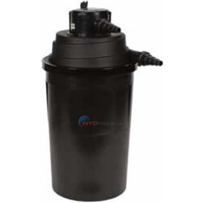 Aquascape ultraklean pressure filter uv 2500 gal 60013 for Used pond filters