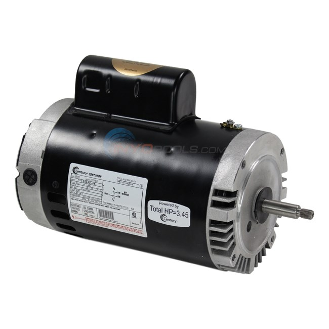A o smith motor 56j thrd full 3hp b131 for Jandy pool pump motor replacement