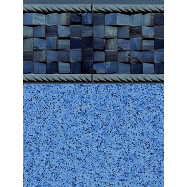 18' x 36' Rect. Inground Pool Liner - 20 MIL Blue Cobblestone - NLGCCAR1836-28MIL