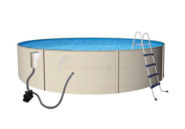 "24' Round 52"" Blue Lagoon Pool Pkg - NB1067"