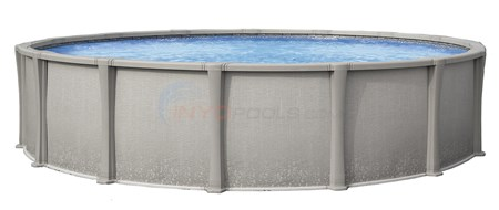 "Matrix 33' Round 54"" Resin Pool (Skimmer Included)"